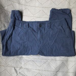 Juniors Linen type Pull On Pant Size M